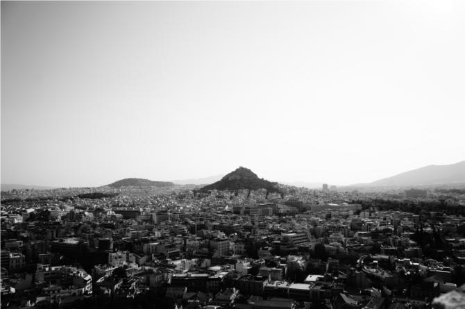 La colline du Lycabette - Athènes
