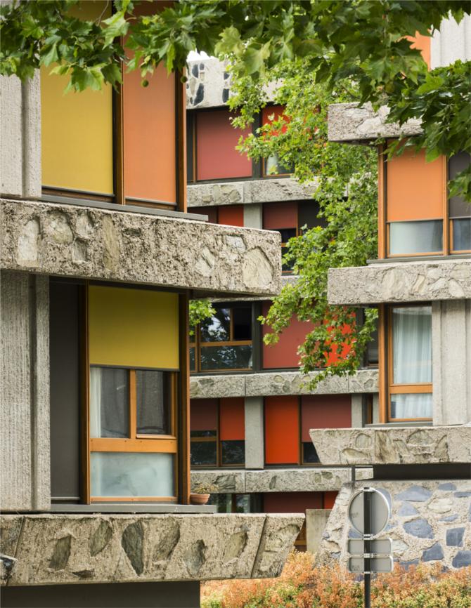 Quartier des Bleuets à Créteil